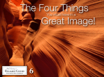 "Book cover from ""The Four Things"""
