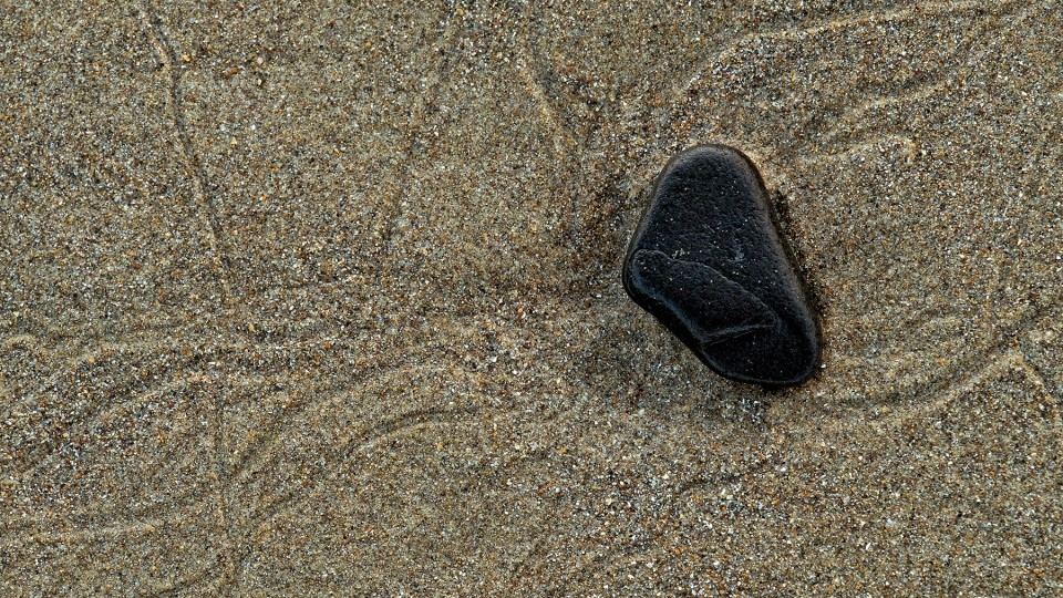 sand and rock