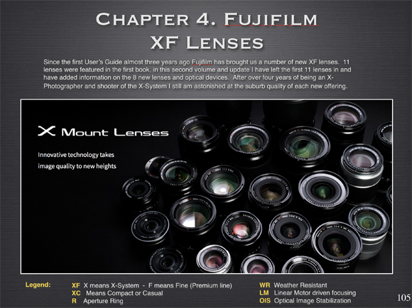 fujifilm x user's guide volume 2