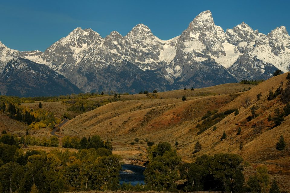Valley and Tetons